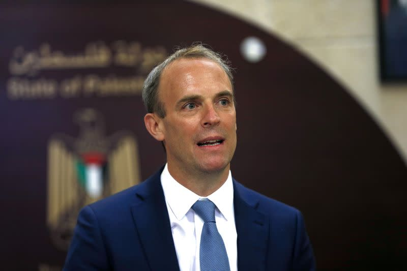 Raab says we can do a 'win-win' U.S. trade deal
