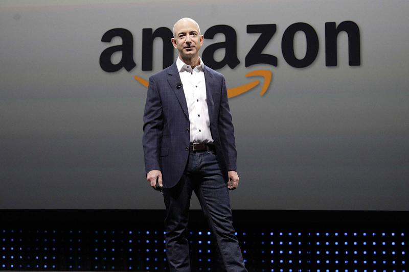 Amazon's Jeff Bezos.
