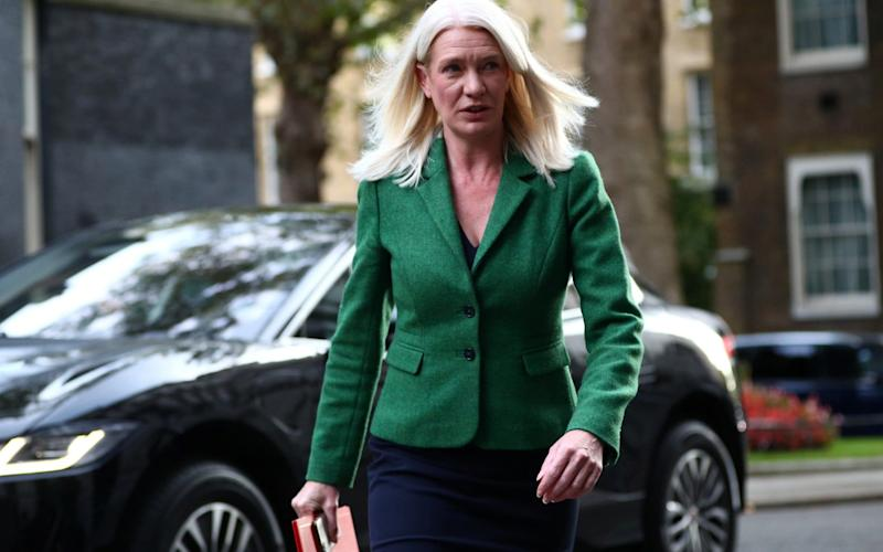 Amanda Milling has served as co-chairman of the Conservative Party (alongside Ben Elliot) since February 2020 - Hannah McKay/REUTERS