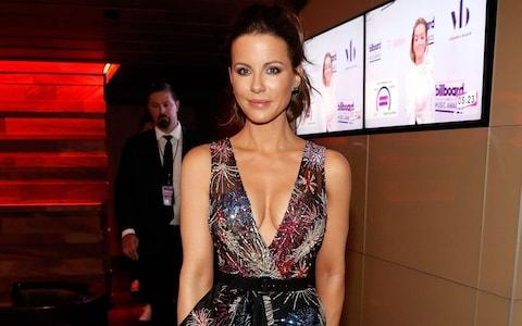 Kate Beckinsale visits the Virginia Black VIP lounge at the 2017 Billboard Music Awards at T-Mobile Arena on May 21, 2017 in Las Vegas - Credit: Getty