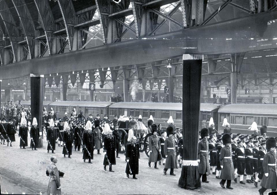 King George VI at Paddington StationDaily Mail/Shutterstock