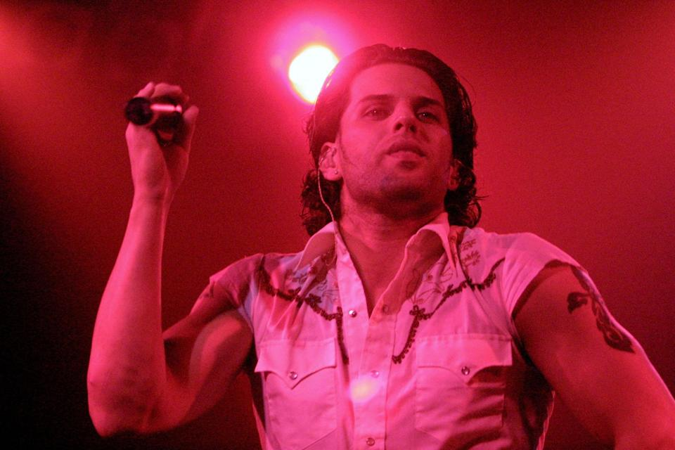 Devin Lima of LFO at the Z100 School Spirit Concert in Long Island, N.Y., in October 2001. (Photo: Gabe Palacio/ImageDirect)