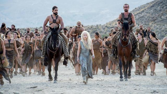 Emilia Clarke as Daenerys Targaryen in HBO's <em>Game of Thrones</em>. (Photo: HBO)