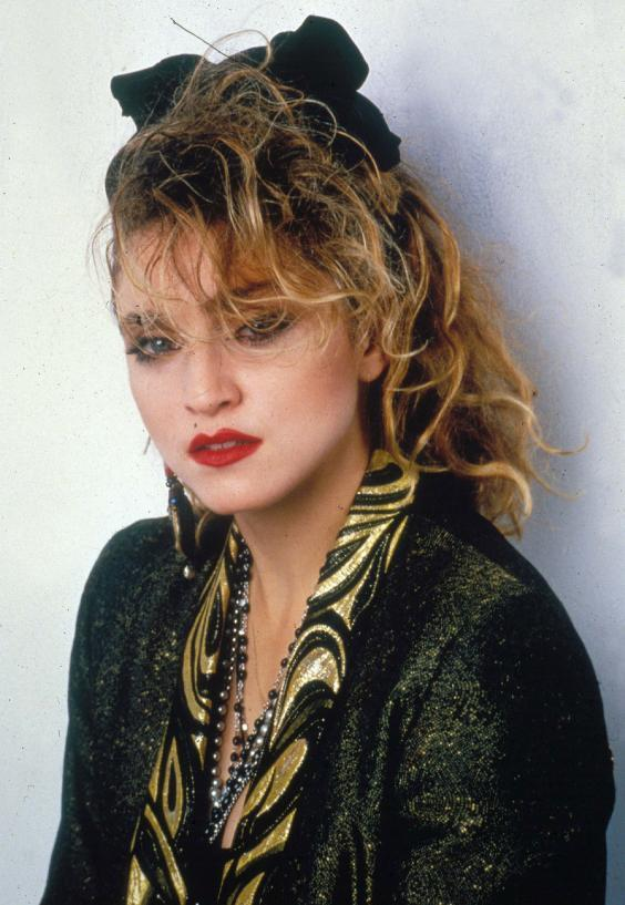 'Into the Groove' by Madonna: From Desperately Seeking Susan, 1985 (Rex Features)