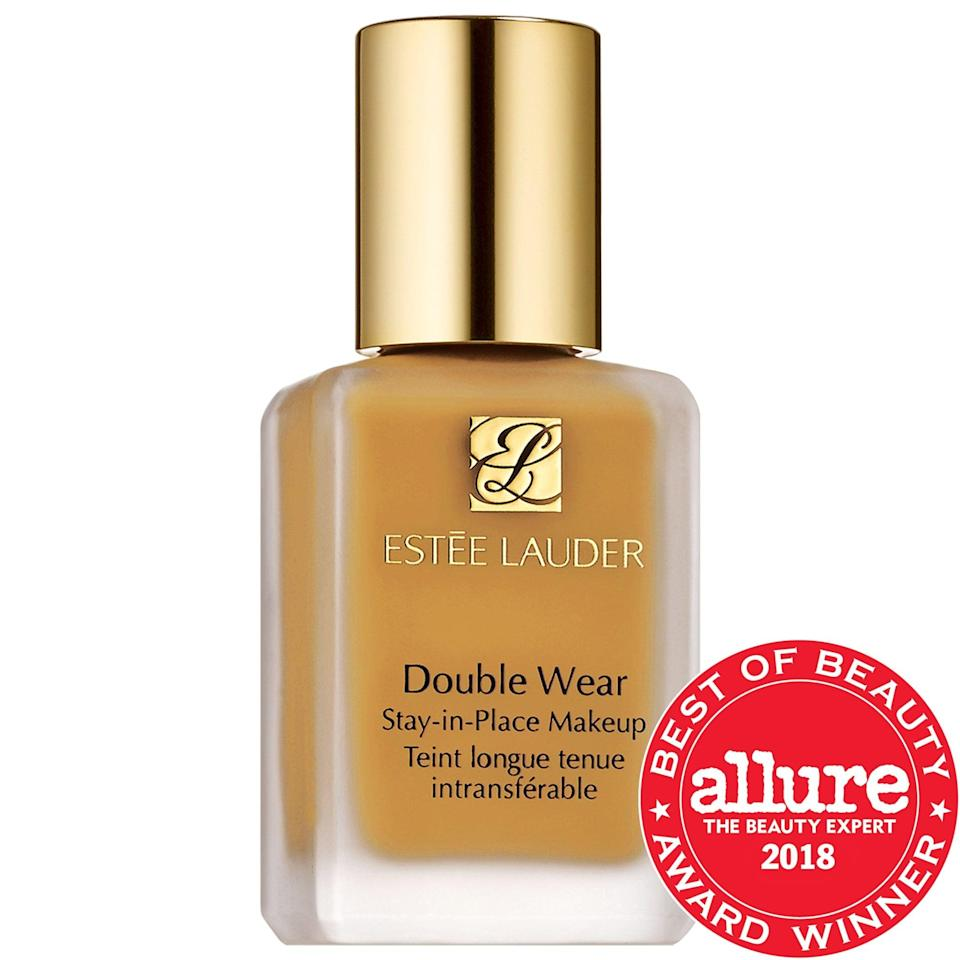 <p>This <span>Estée Lauder Double Wear Stay-in-Place Foundation</span> ($43) lasts up to 24 hours, even in humid environments. It controls oil (plus is oil-free itself) and has earned thousands of rave five-star reviews from other Sephora shoppers.</p>