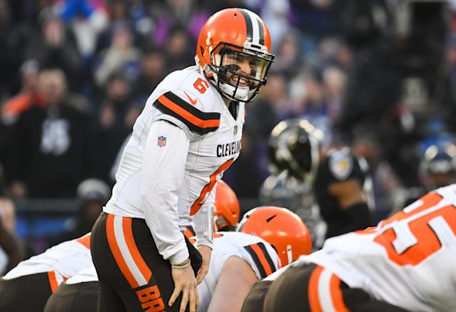 Baker Mayfield brings unparalleled optimism to the Cleveland Browns franchise. (Photo by: 2018 Nick Cammett/Diamond Images/Getty Images)