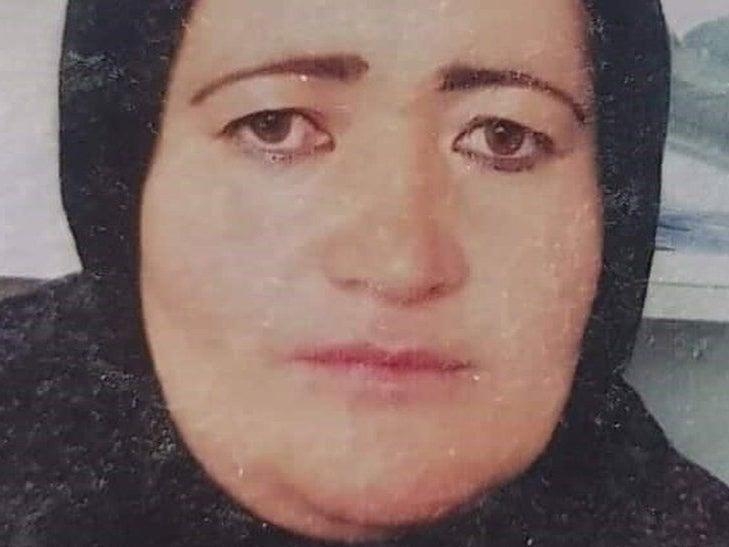 Negar's family provided this image of her to Western media (BBC)