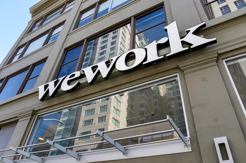 WeWork's 2025 junk bond falls to record low