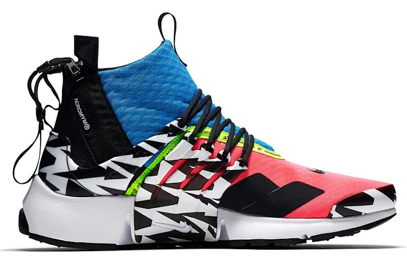First Look At The ACRONYM x Nike Air Presto Mid 'Racer Pink