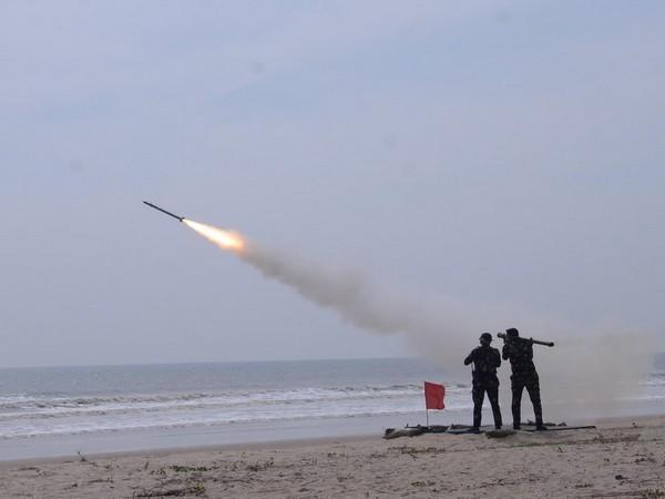 IAF successfully tested indigenous, Russian air defence missiles. (IAF)