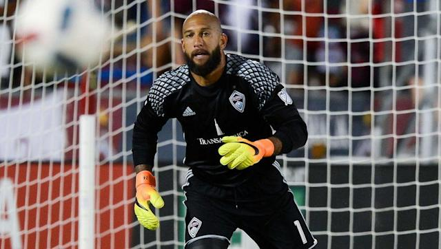 <p>Tim Howard is the highest paid goalkeeper currently plying his trade in the league following his return home from Premier League side Everton in the summer of 2016.</p> <br><p>This is the first full MLS season that the wonderfully dubbed 'US Secretary of Defense' has played in 15 years after he left the now defunct NY/NJ MetroStars for Manchester United midway through the 2003 campaign.</p>