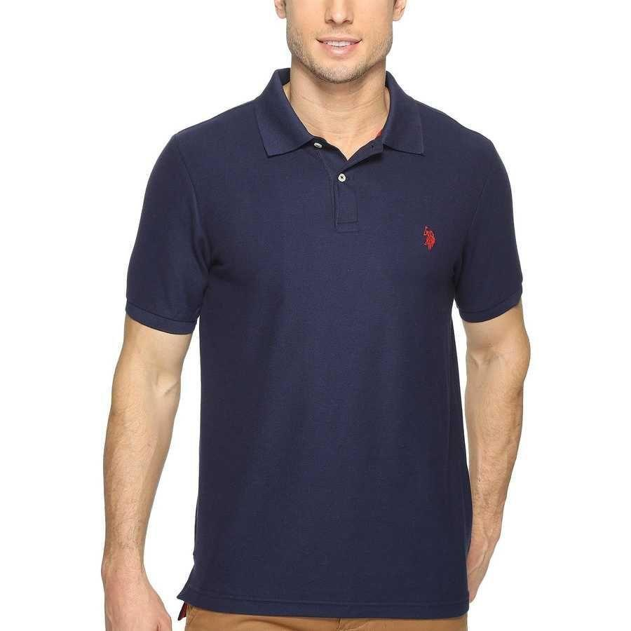 """<p><strong>U.S. Polo Assn.</strong></p><p>amazon.com</p><p><a href=""""https://www.amazon.com/dp/B005LCMZOG?tag=syn-yahoo-20&ascsubtag=%5Bartid%7C2139.g.36477804%5Bsrc%7Cyahoo-us"""" rel=""""nofollow noopener"""" target=""""_blank"""" data-ylk=""""slk:BUY IT HERE"""" class=""""link rapid-noclick-resp"""">BUY IT HERE</a></p><p><del>$42.00</del><strong><br>$22.05</strong></p><p>The relaxed style of this iconic polo shirt makes it great for all the outdoor gatherings you'll be attending this season, and the navy shade will easily transition into the cooler months. </p>"""