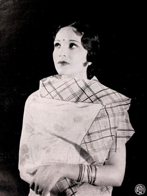 Widely known as the first lady of Indian cinema, actress and producer Devika Rani ventured into areas where few women before her had dared to – while she shook the Hindi film industry with her bold and intense kissing sequence with her co-star Himanshu Rai, in the 1933 film Karma, Devika Rani was also among the first women to get into production when she set up Bombay Talkies with Himanshu Rai and Raj Narayan Dubey. Among her best-known roles are that of Kasturi in the 1936 film Achyut Kanya, where Devika plays a Dalit woman in love with a Brahmin man. The film was forward in its time as it featured the subject of love and untouchability. Devika Rani, who was often compared to Greta Garbo, also proved her singing prowess in the song Main Ban Ki Chidiya, which became one of the greatest romantic duets of that time. The film also marked the introduction of her pairing with Ashok Kumar. The duo went on to do films such as Janma Bhoomi (1936), Savitri (1937), Izzat (1937), Nirmala (1938), Vachan (1938) and Anjaan (1941), together. After her husband Himanshu Rai's death, Devika Rani took over the reins of Bombay Talkies and produced two successful films, Basant and Kismet, both starring Ashok Kumar. Devika Rani retired from the film industry in 1944, over differences with Ashok Kumar and Shashadhar Mukherjee.