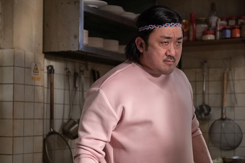 Ma Dong-seok or Don Lee plays Geo-seok in Start Up. (PHOTO: Clover Films)