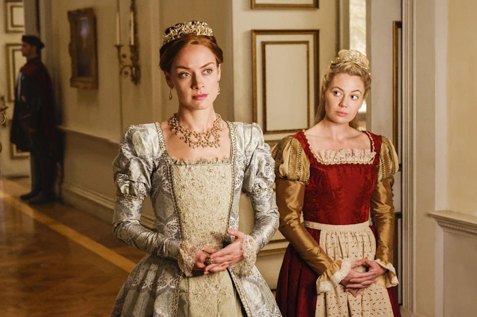 """<p>Instead of high school royalty, this series is centered on actually royalty, following the fictitious and scandalous exploits of Mary, Queen of Scots, who's played by <strong>Teen Wolf</strong>'s Adelaide Kane. If you think Queen Bee Blair Waldorf is powerful, just wait until you see Mary and her ladies-in-waiting in action. </p> <p><strong>Where to watch:</strong> <a href=""""http://www.netflix.com/title/70283260"""" class=""""link rapid-noclick-resp"""" rel=""""nofollow noopener"""" target=""""_blank"""" data-ylk=""""slk:Netflix"""">Netflix</a></p>"""