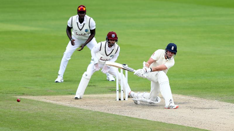 Stuart Broad's fast half-century steadies the ship for England on second morning