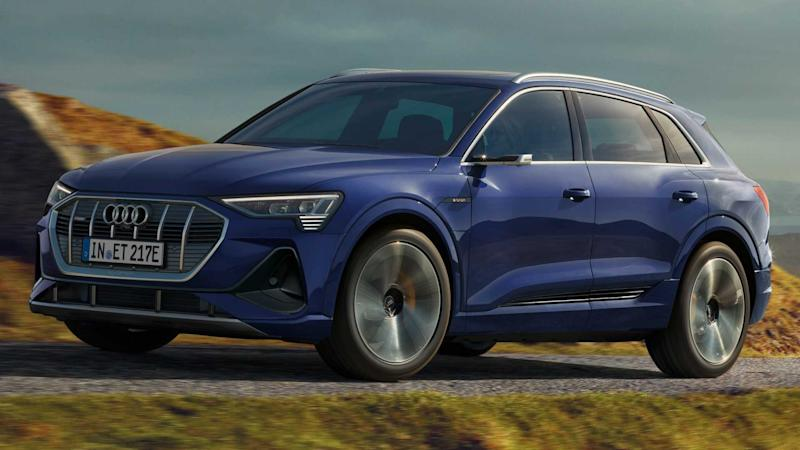 2020 Audi E-Tron with S Line exterior package