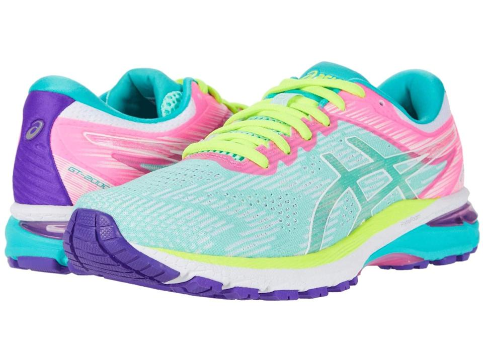 <p>Ideal for high-impact activities, these <span>ASICS GT-2000 9 Running Shoes</span> ($110, originally $120) feature a gel cushioning that helps absorb shock for a smoother workout. If you're just starting your running journey, you need these shoes.</p>