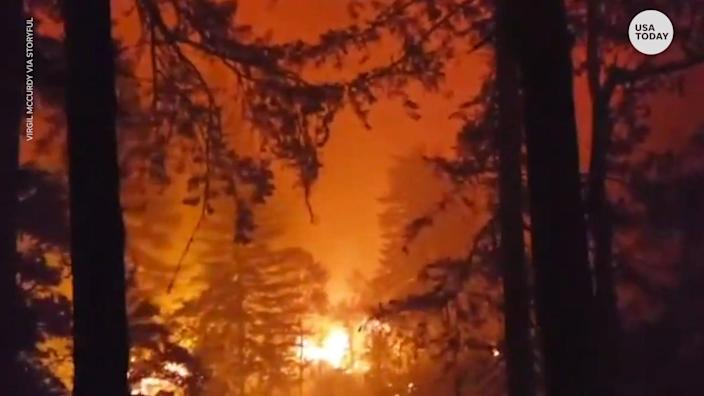 Multiple U.S. western states are suffering from horrific wildfires.