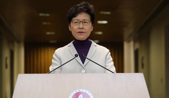 """Pan-democrat lawmakers accuse Hong Kong Chief Executive Carrie Lam of making """"many unconstitutional decisions"""" in pushing forward the extradition bill and in her handling of anti-government protests. Photo: Dickson Lee"""