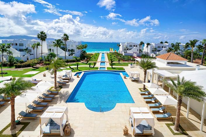 In Anguilla, CuisinArt Golf Resort & Spa reopens in the fall.