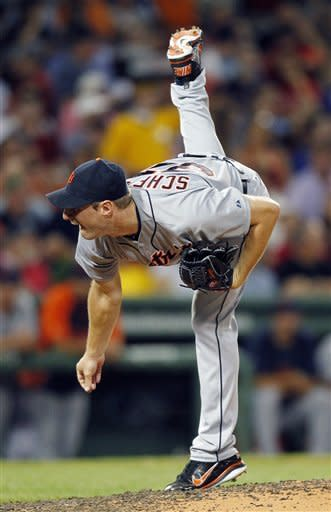 Buchholz and Pedroia carry Red Sox past Tigers 7-3