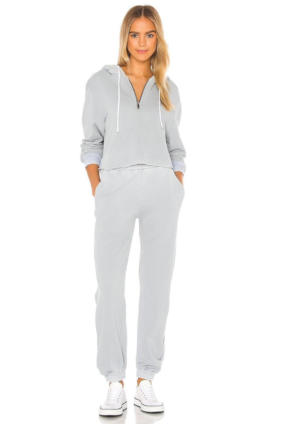 <p>This <span>Cotton Citizen Brooklyn Crop Zip Hoodie</span> ($215) and <span>Sweatpants</span> ($225) is so cozy and cute.</p>