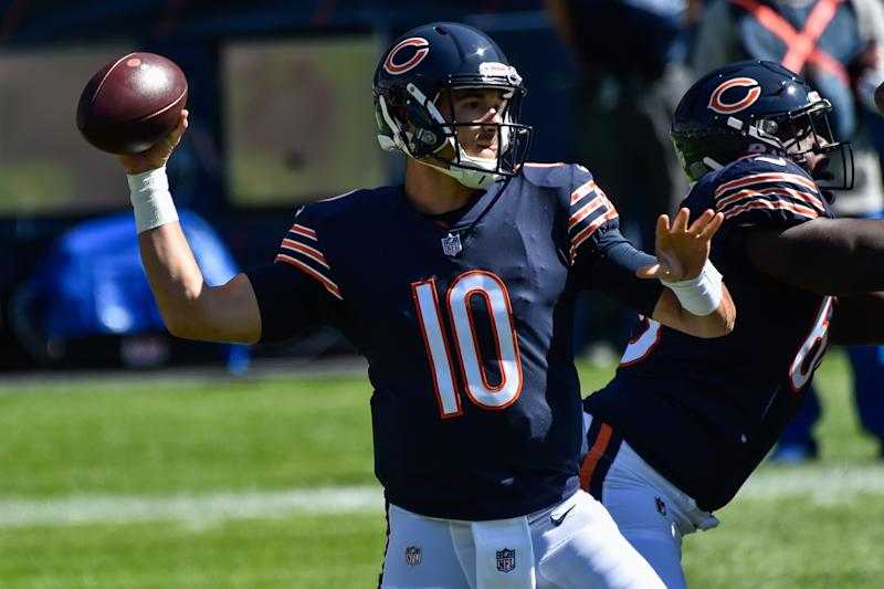 Is Mitchell Trubisky…improving?