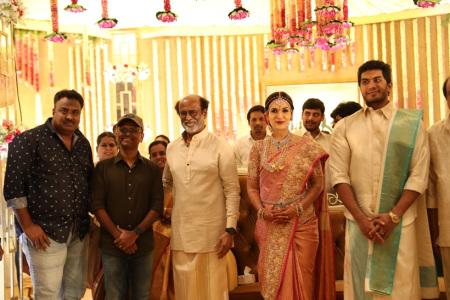 AR Murugadoss at Soundarya Rajinikanth and Vishagan Vanangamudi wedding