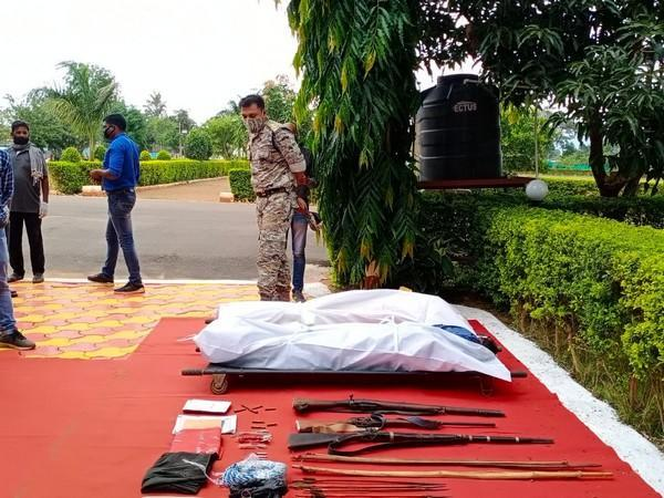 Recovered weapons (Photo/ANI)