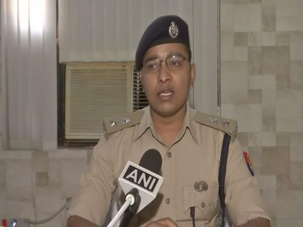 Superintendent of Police Vineet Jaiswal says the girl was allegedly raped by her maternal cousin in Aligarh 15 days ago. (Photo/ANI)
