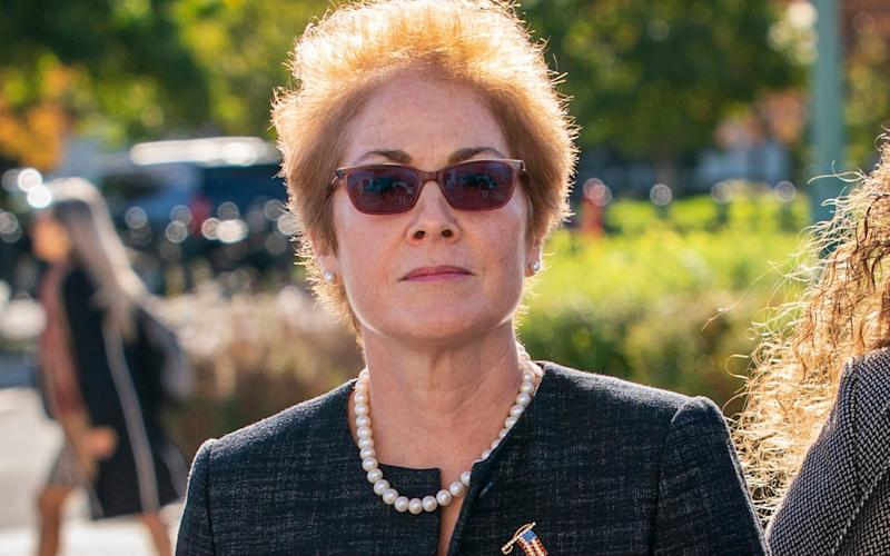 Marie Yovanovitch will publicly detail the events leading up to her firing on Friday - AP