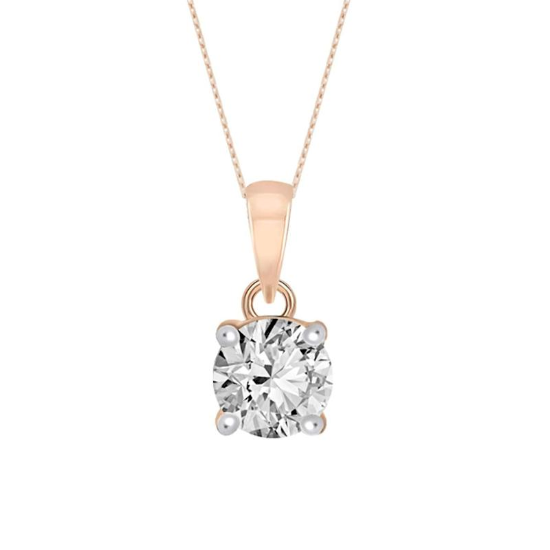 Tanaché 1/5 Cttw to 5/8 Cttw IGI Certified Diamond Necklace (Photo: Amazon)