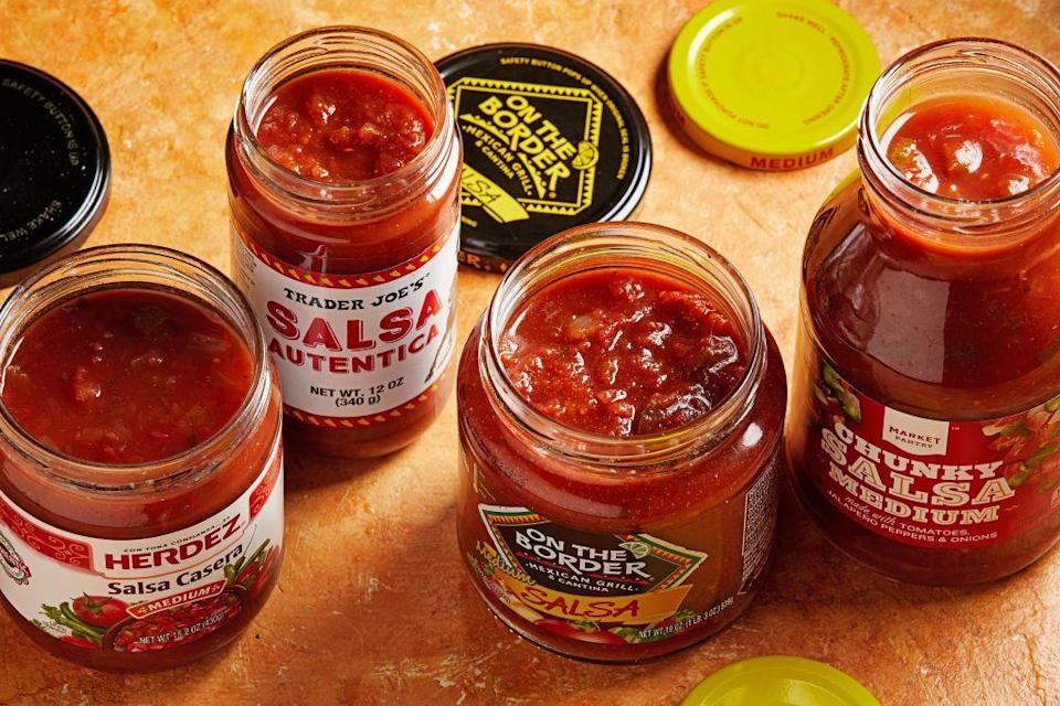 """<p>Wonder if that salsa is too spicy? If that dark chocolate is too bitter? Well, with the Trader Joe's <a href=""""http://www.eatingwell.com/article/290495/why-you-should-always-shop-at-trader-joes-on-tuesday-or-wednesday/"""" rel=""""nofollow noopener"""" target=""""_blank"""" data-ylk=""""slk:&quot;Try Anything&quot; policy"""" class=""""link rapid-noclick-resp"""">""""Try Anything"""" policy</a>, you can test any product before purchasing it to make sure it's exactly what you want. </p>"""