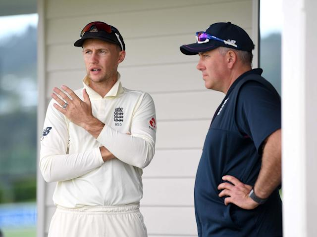 Joe Root and Chris Silverwood discuss plans on tour in New Zealand: Getty