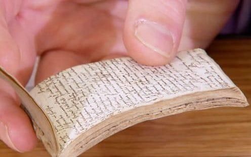 The 'remarkable Shakepeare notepad which so wowed the boffins on AQ