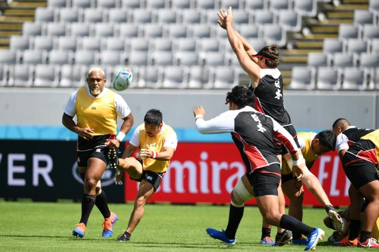 Japan are hoping to reach the knock-out phase for the first time (AFP Photo/CHARLY TRIBALLEAU)