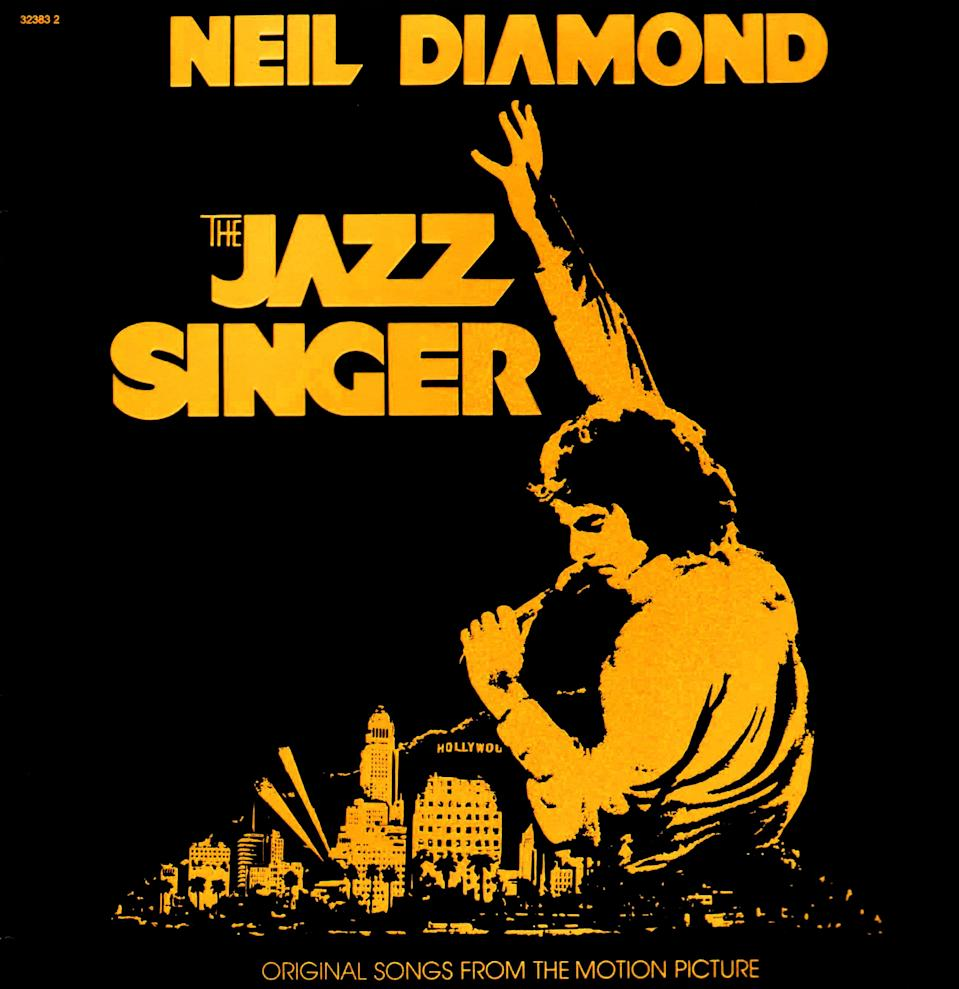 The Jazz Singer is an album by Neil Diamond that was released in 1980. It was the soundtrack for the 1980 remake of the film by the same name. While the film bombed, the album sold over 5 million copies and was Diamond's biggest ever selling album in the United States. (Photo by: Universal History Archive/UIG via Getty images)