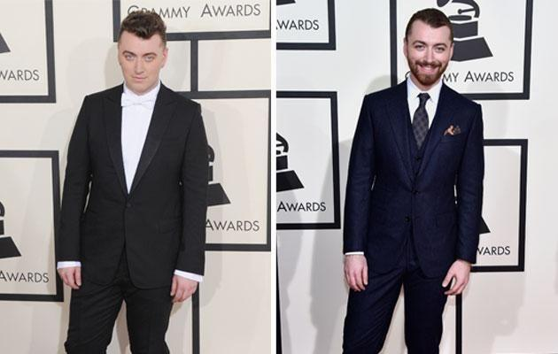 Despite has lost heaps of weight, seen here at the Grammy's in 2015 vs the Grammys 2016. Source: Getty