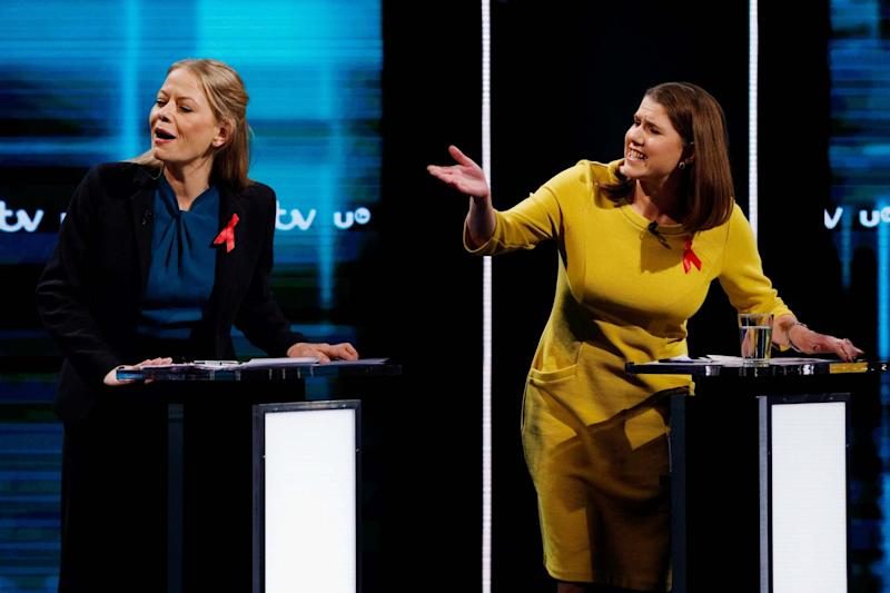 Frustration from all sides as the candidates discussed the sticky subject of: money (ITV via Getty Images)