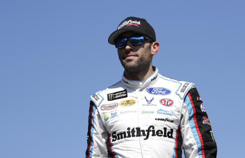 Aric Almirola to replace Danica Patrick at Stewart-Haas Racing in 2018
