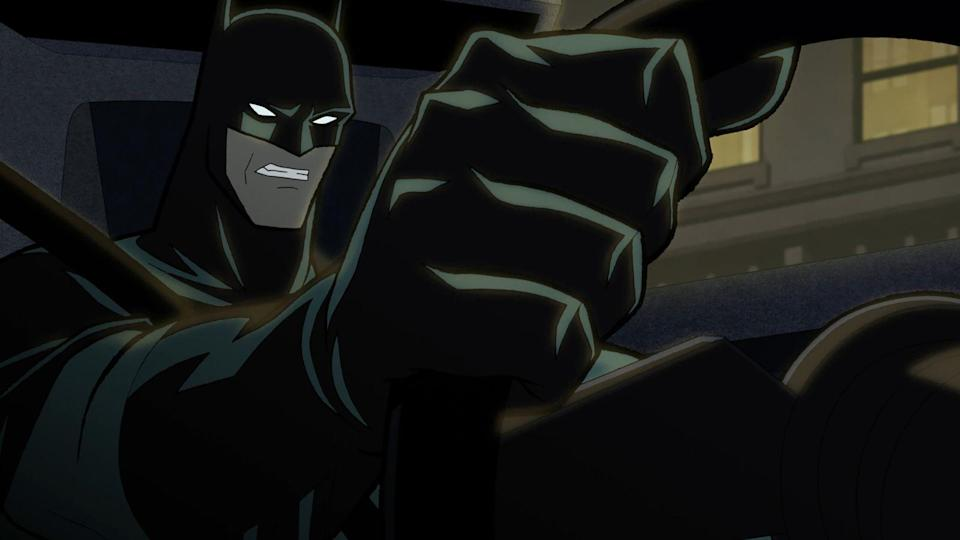 Batman muss wieder einmal Gotham City retten. (Bild: 2021 Warner Bros. Entertainment Inc. BATMAN and all related characters and elements are trademarks of and © DC Comics.)