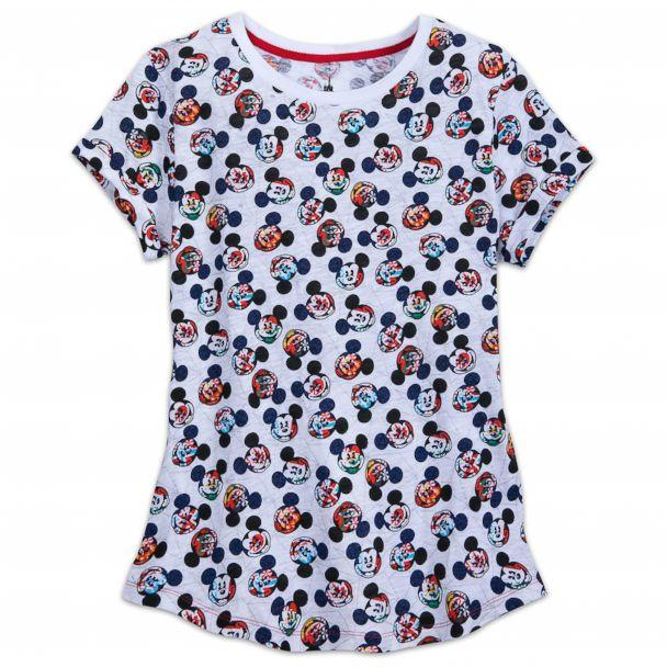 PHOTO: Mickey Mouse Epcot Flags Shirt for Women (Mickey Mouse Epcot Flags Shirt for Women)