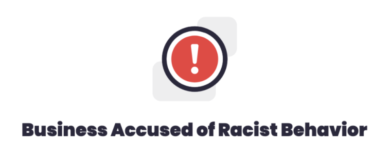 Yelp is taking a stand against racism with new consumer alert. (Photo: Yelp)