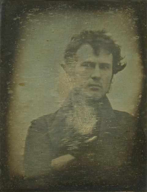 Self portrait by Robert Cornelius, 1839 - Credit: Royal Photographic Society/Trov