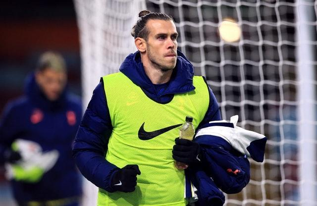 Gareth Bale was an unused substitute in the 1-0 win at Burnley on Monday night