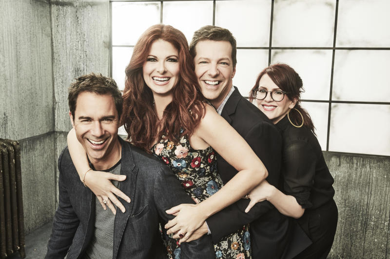 "NBC's ""Will & Grace"" revival debuts oSept. 28."