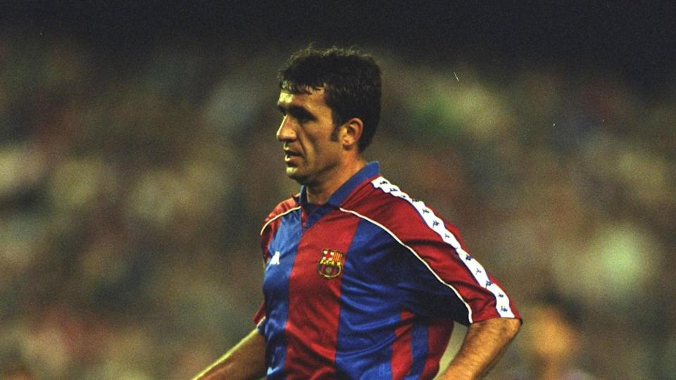 Gheorghe Hagi, Barcellona | Clive Brunskill/Getty Images
