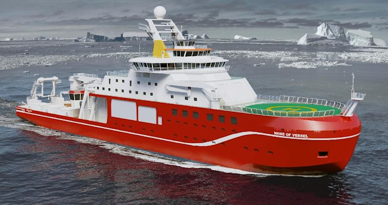 "The £200 million polar research ship will be named ""Sir David Attenborough"""