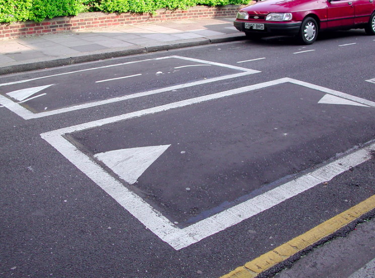 Speed cushions cover less of the road than speed bumps (Rex)